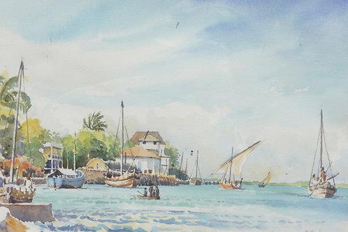 Lamu Town and Island, 1977