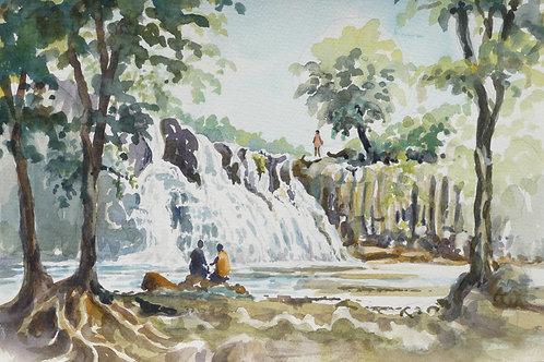Rochester Falls near Souillac, 2006