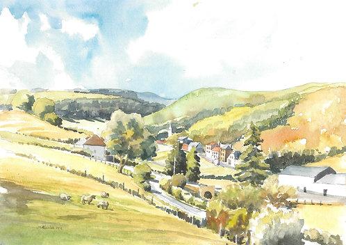 Village in the north, 1991
