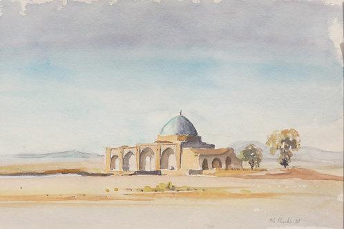 Small desert mosque, 1968