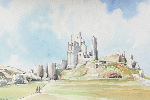 Corfe Castle, Dorset, 2004