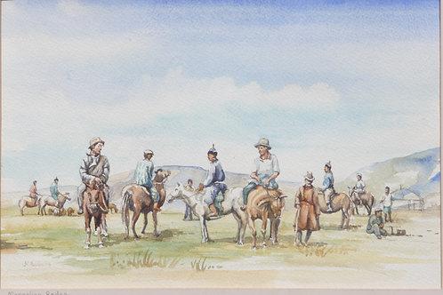 Local rodeo east of Ulaanbaatar, 2004