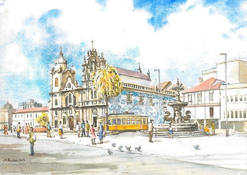 Igreja dos Carmelitas, Porto, 2019