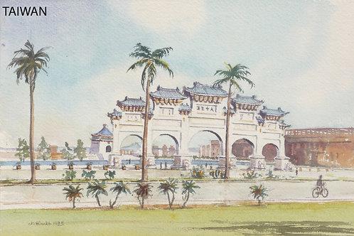 Chiang Kai-shek Memorial Hall, Taipei, 1985