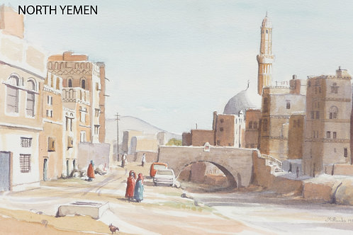 The medieval centre of Sana'a,1984