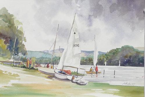 Bala Lake, 1977