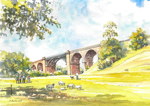Lowgill Viaduct close to Sedbergh, 2018