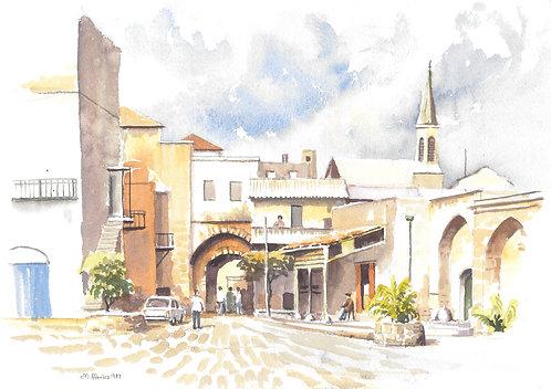 Akko Old Town, 1987