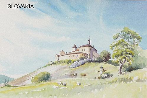 Krásna Hôrka Castle, 1989