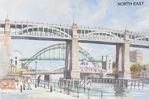 The Four Bridges, Newcastle, 2001