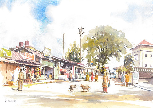 Street scene Kalimpong
