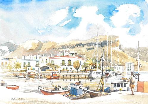 Puerto de Mogán Harbour, 2001