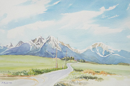 The Tatra Mountains (B), 1989