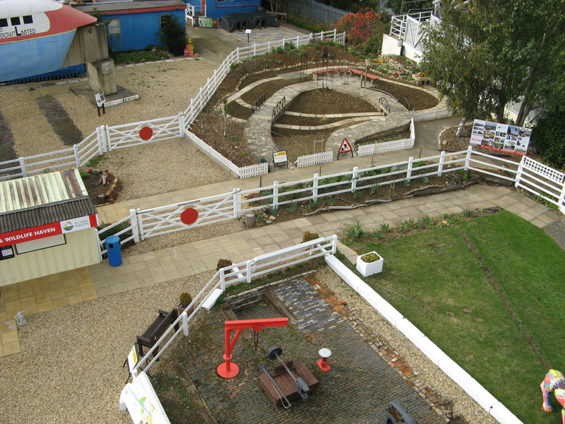 New Garden Railway and LNWR excavations