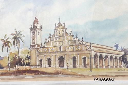 The Iglesia de la Santísima, Trinidad, 1971