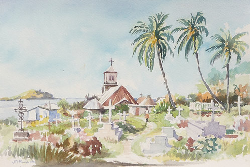 Dominica Soufriere Church, 1991