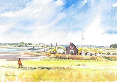 Coast near Yarmouth, Nova Scotia, 1999