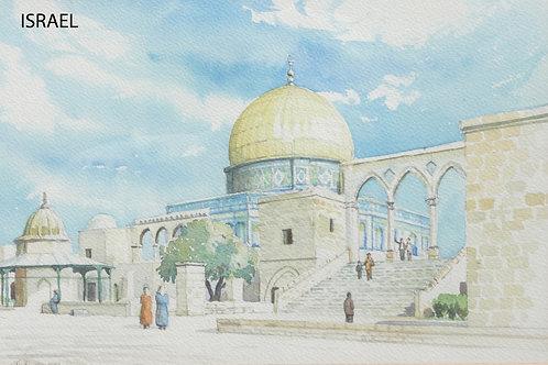 The Dome of the Rock, Jerusalem, 1987