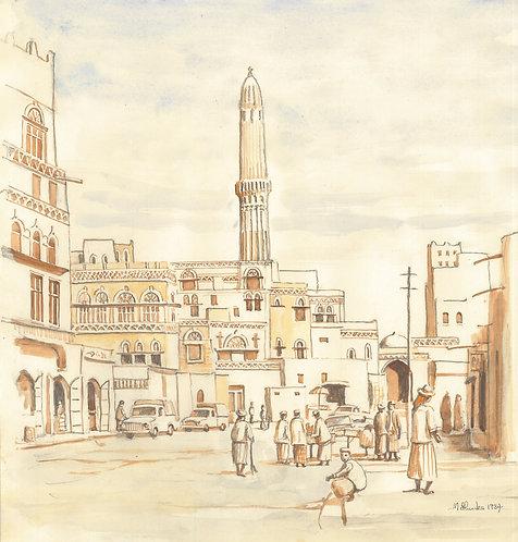 Sanaa's Old City, 1984