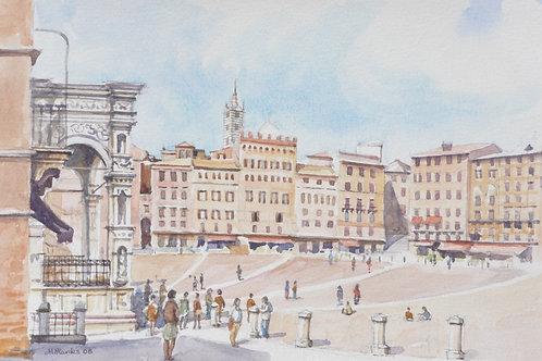 Piazza del Campo, Siena, 2008