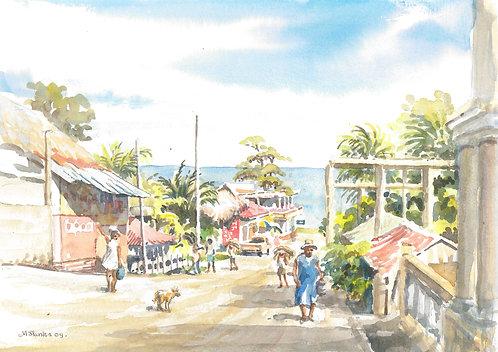 Livingston, on the Caribbean coast, 2009