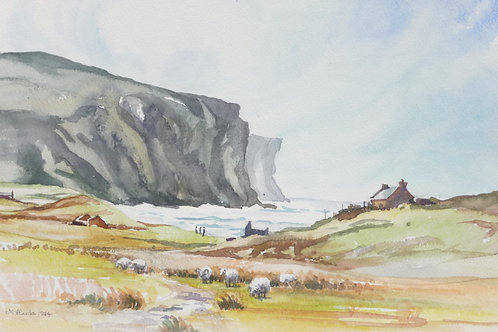 Rackwick Bay on Hoy, 1994