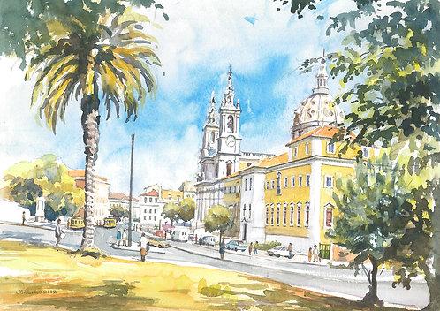 The Estrela Basilica, Lisbon, 2002