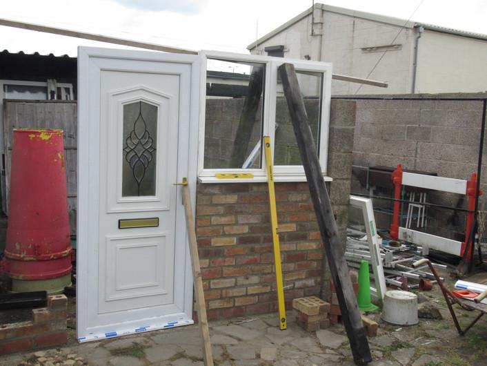 Redundant door & windows  reused and hel