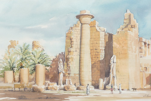 The Karnak Temple Complex, 1982