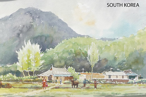 Typical country scene in the south, 1975