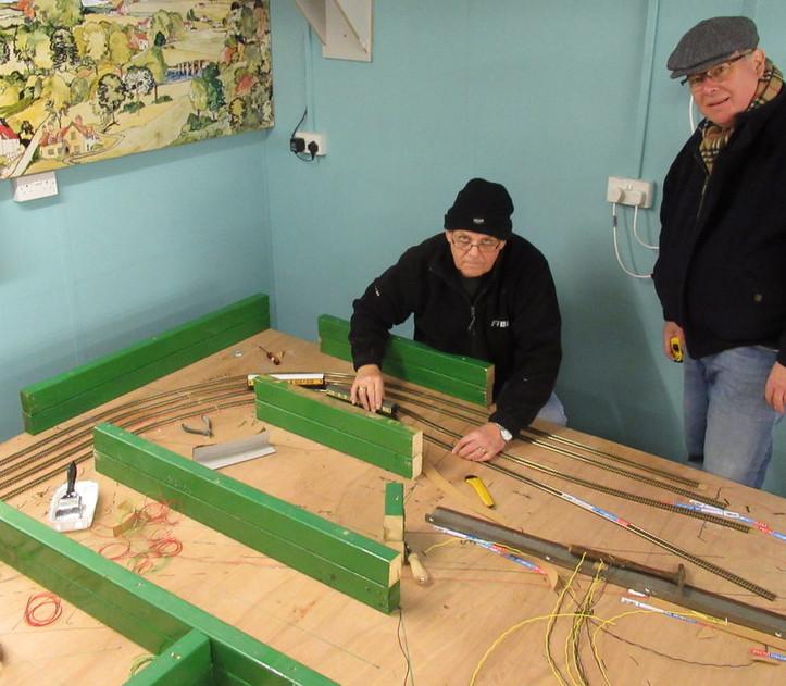 Building the model railway .JPG