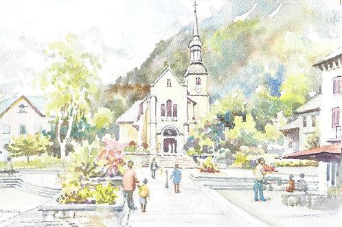 Church Saint-Michel at Chamonix, 2016