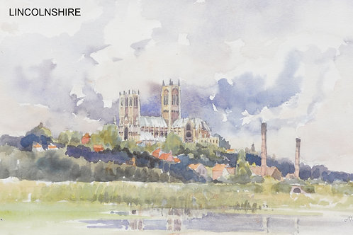 Lincoln Cathedral (A), 1977