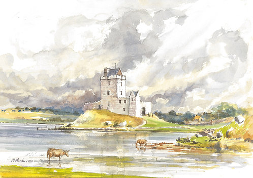 Dunguaire Castle on Galway Bay, 1988