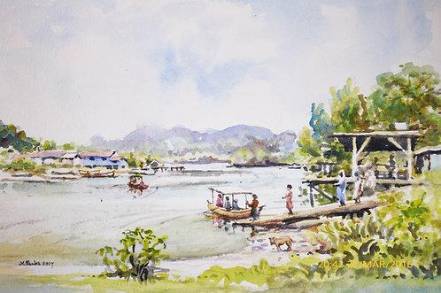 Ferry at Bako, near Kuching