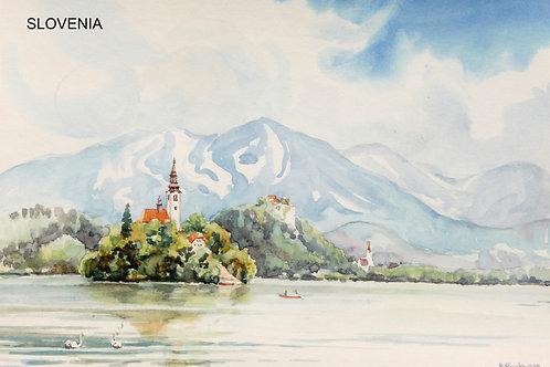 Lake Bled(A), 1989