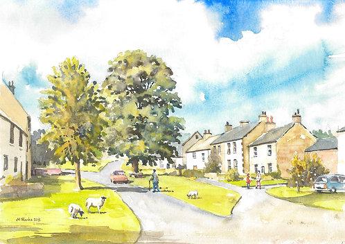 Askham, in the Eden District of Cumbria, 2015
