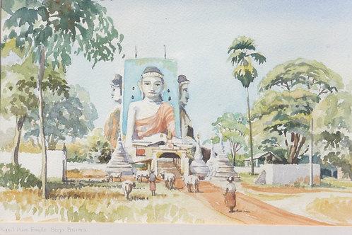 Kyaik Pun Pagoda, near Bagon, 1994