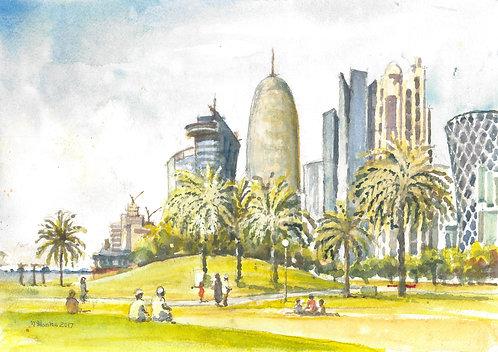 Central Doha, 2017
