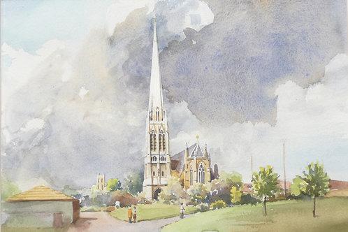 St Walburge's Church, Preston, 1999