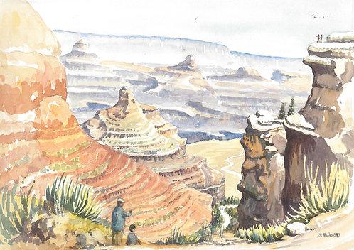 Grand Canyon National Park, 1985