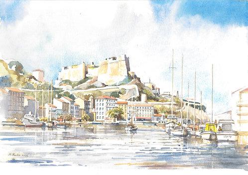 Port De Bonifacio and fortress, 2005