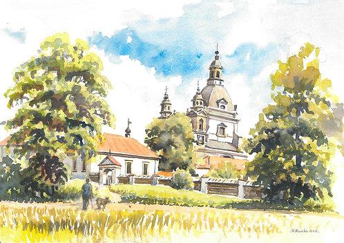 Pažaislis Monastery, Kaunas, 1998
