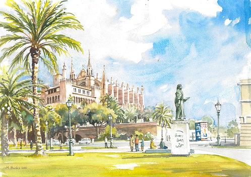 The Cathedral of Santa Maria of Palma, 2011