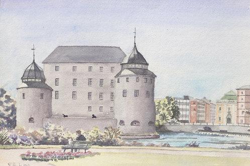 Orebro Castle, 1961