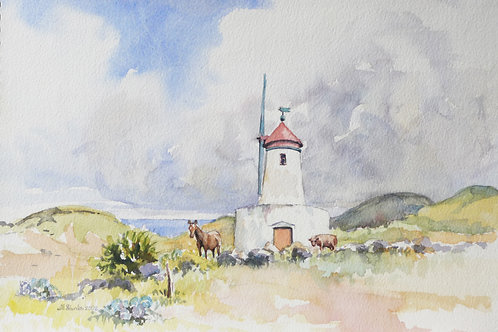Windmill on São Jorge Island