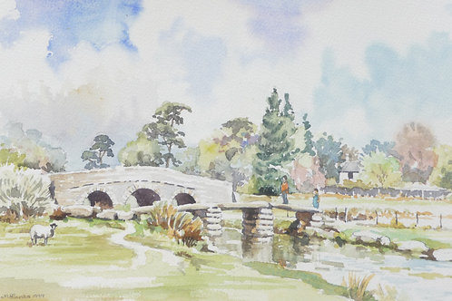 Clapper Bridge, Dartmoor, 1999