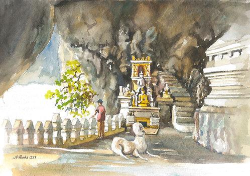 Tham Ting near Luang Prabang, 1999