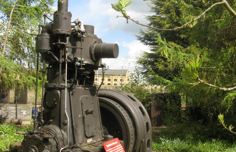 Warboys generator . promoting cambs heri