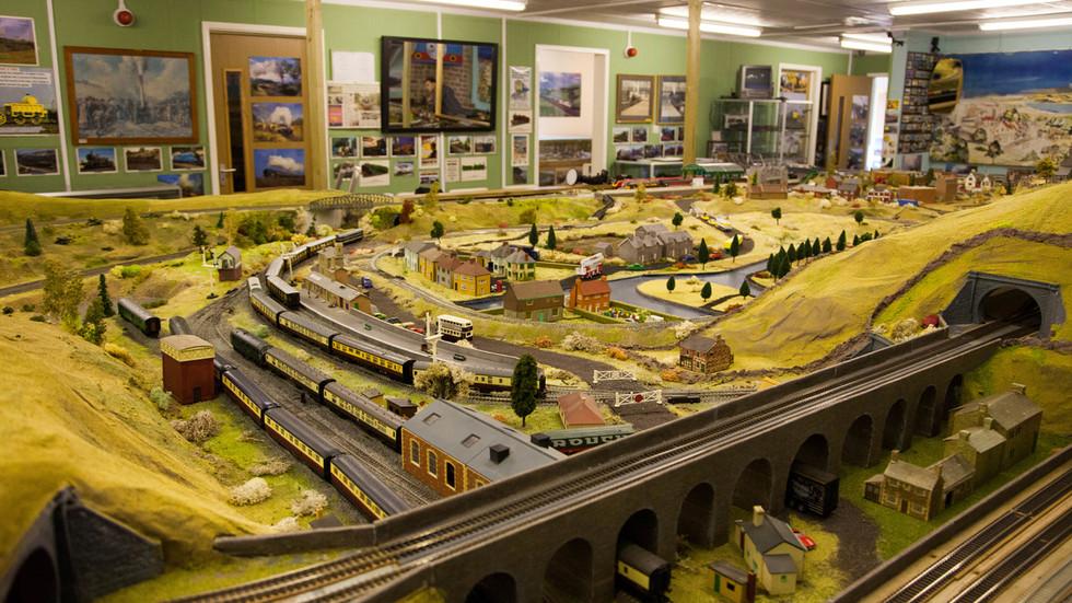 Railworld Model railway by Terry Harris